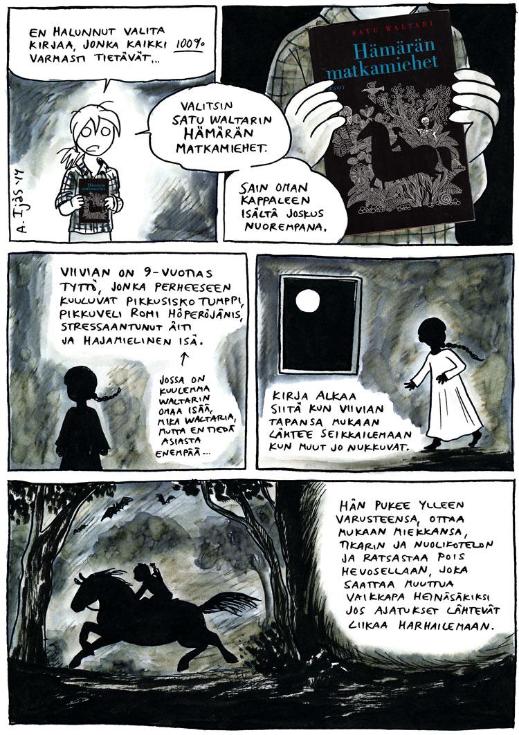 Hämärän Matkamiehet, Satu Waltari, kirjaesittely, fantasia, kirjallisuus