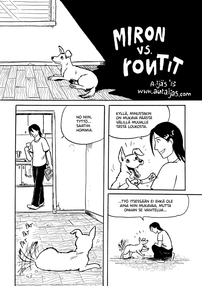 Miron, Rontit, sarjakuva, crossover