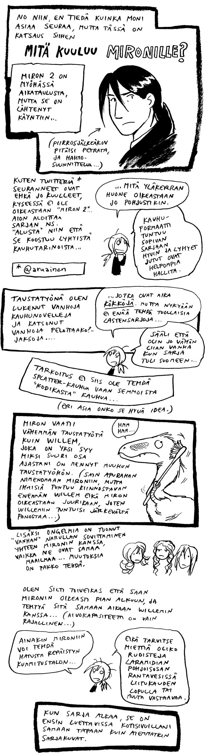 Miron, sarjakuvat,