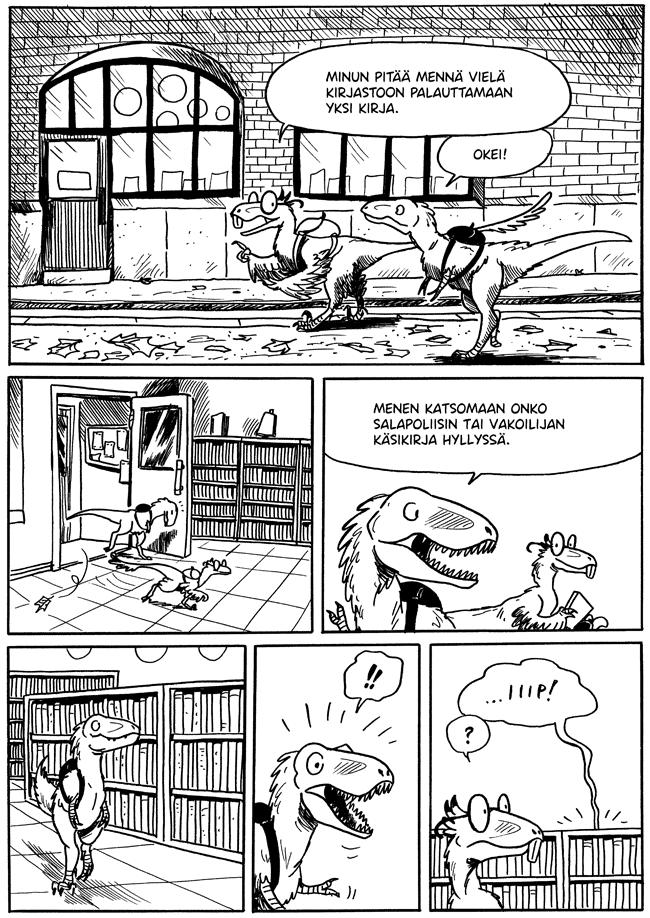 Dinosaurukset, Willem, Noidan Käsikirja